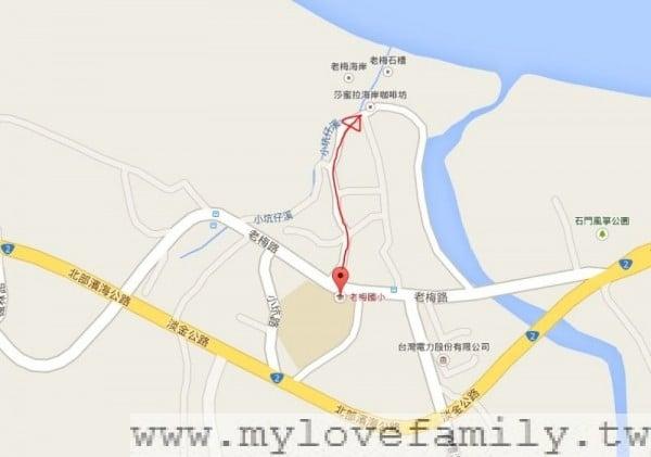 老梅國小地圖