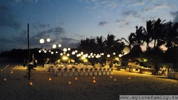 巴里島 第二天晚宴場地