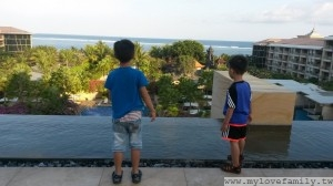 酒店大廳俯視