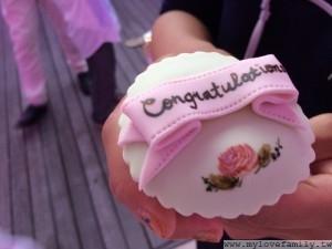 婚禮翻糖小蛋糕