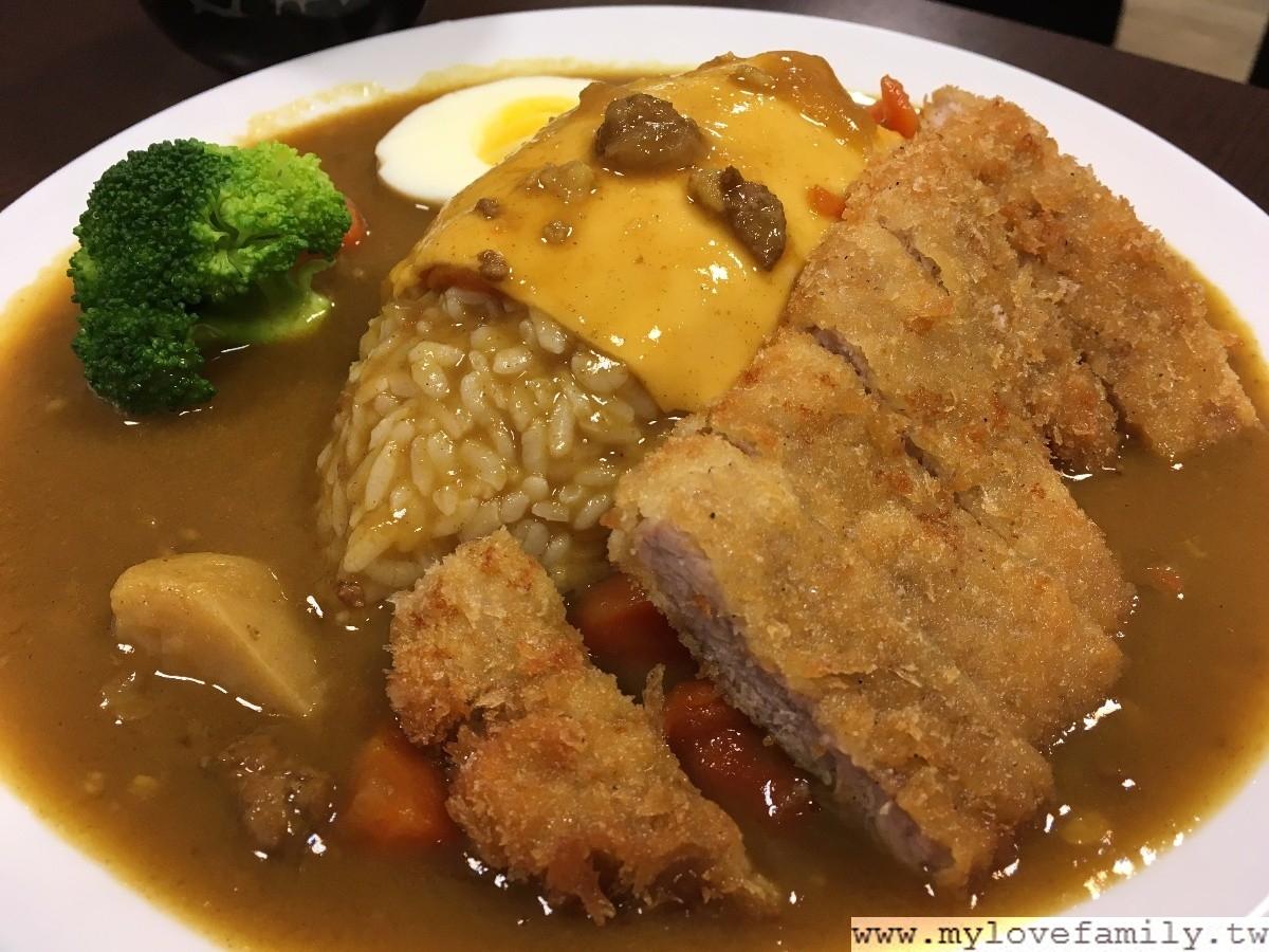 東豐庭咖哩飯