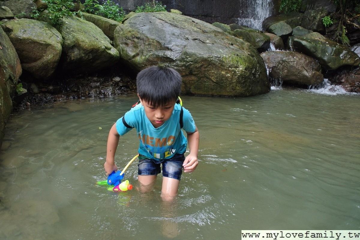 花岩山林戲水