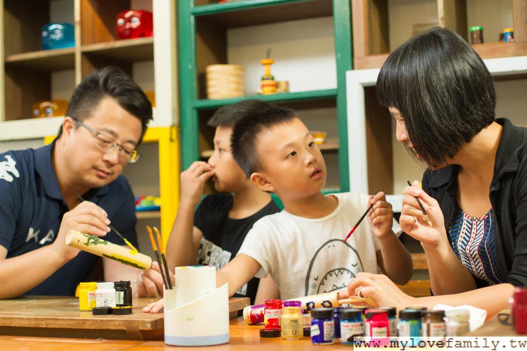 週末親子藝術教學