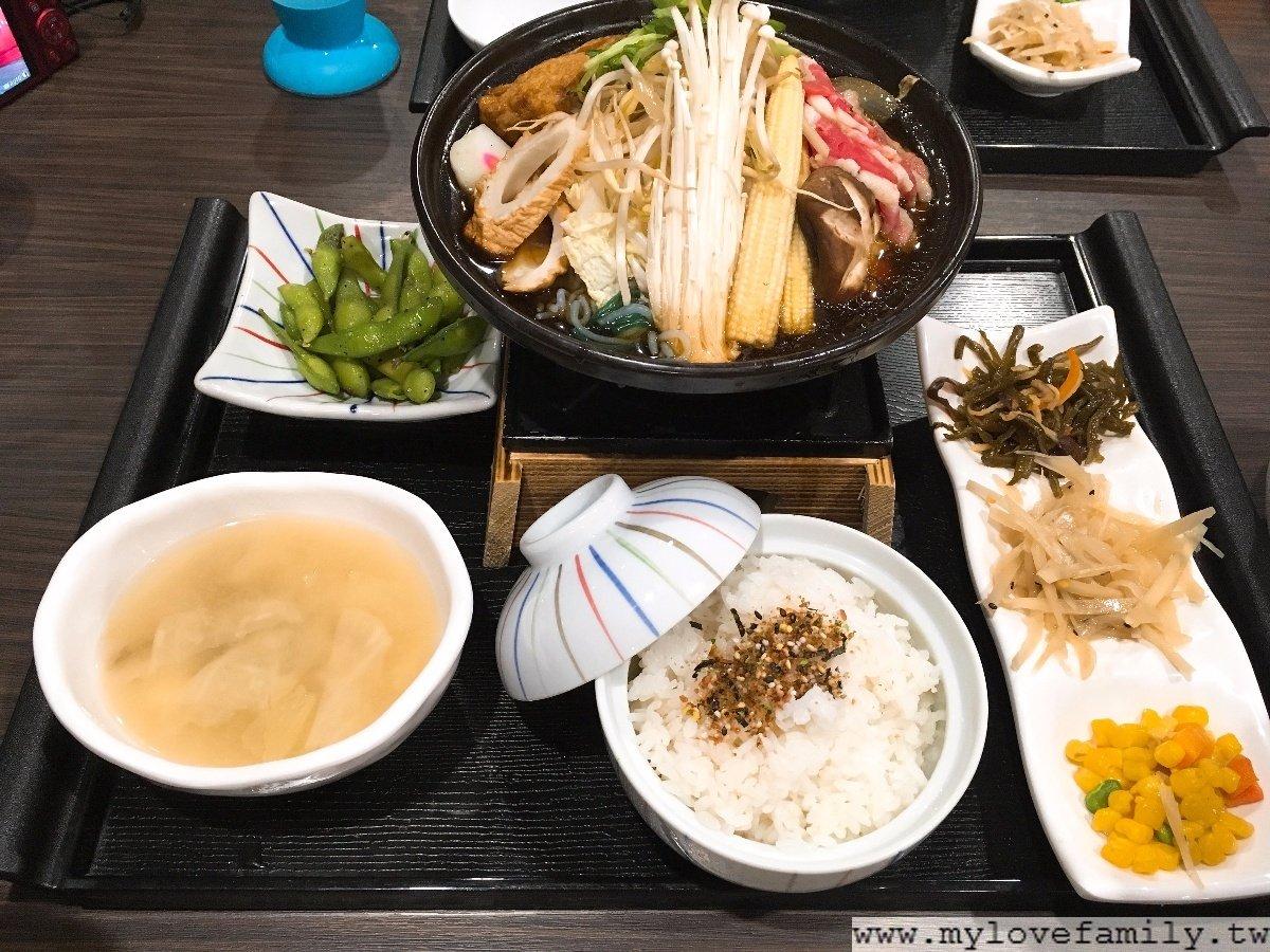 壽喜燒定食
