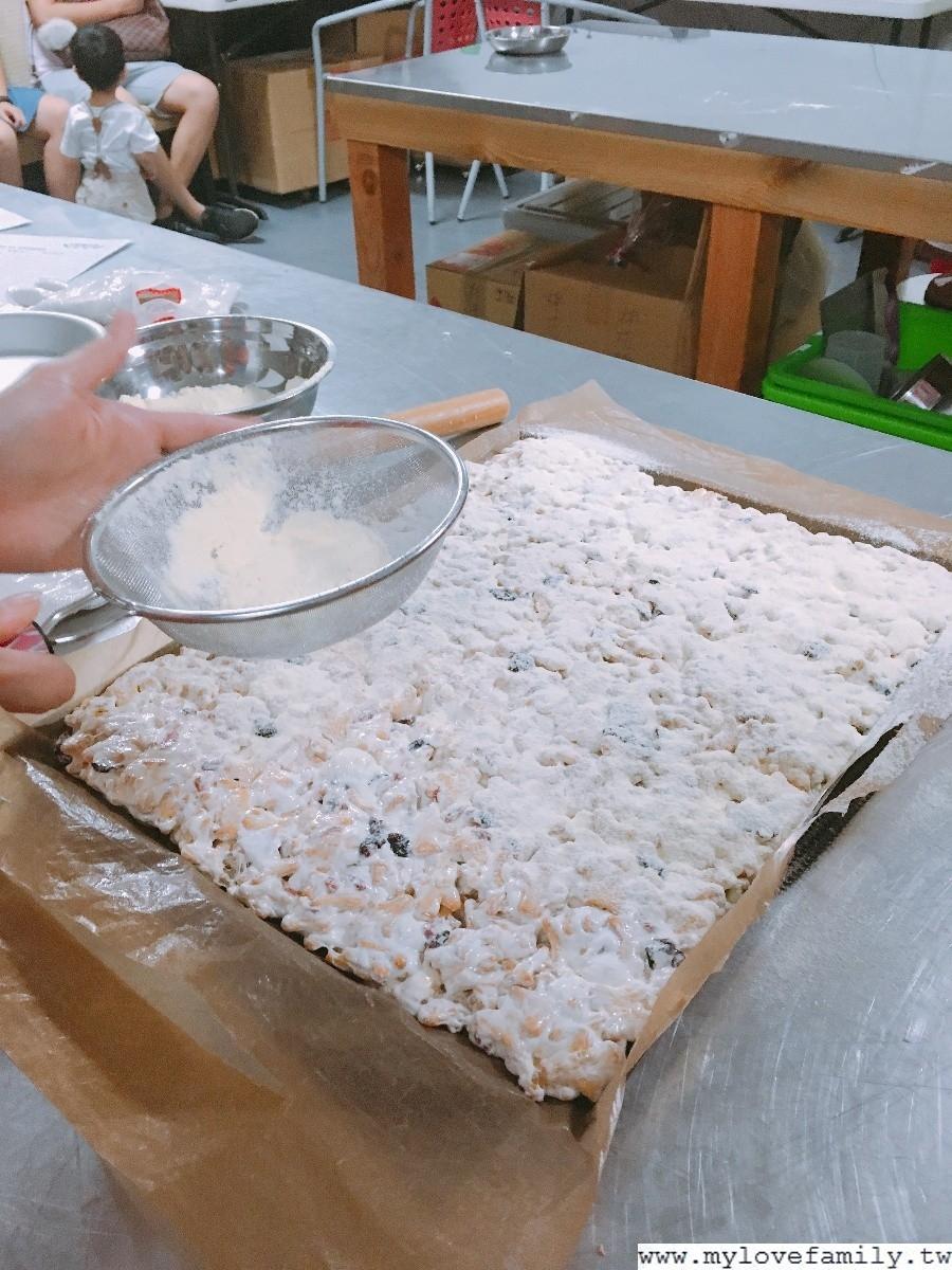 法式千層白巧克力雪花餅