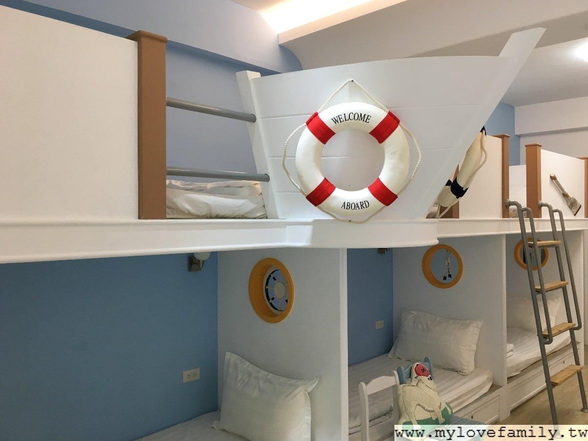 水手日誌五人房
