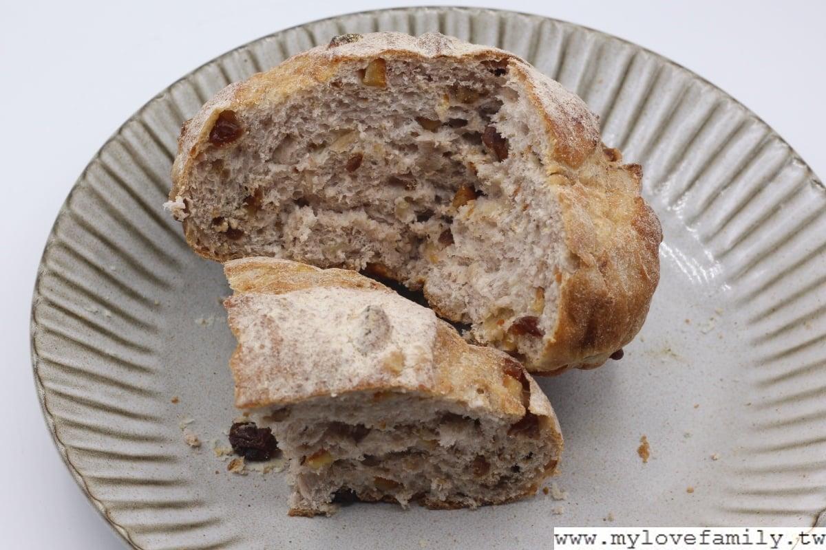 水果祼麥歐式麵包