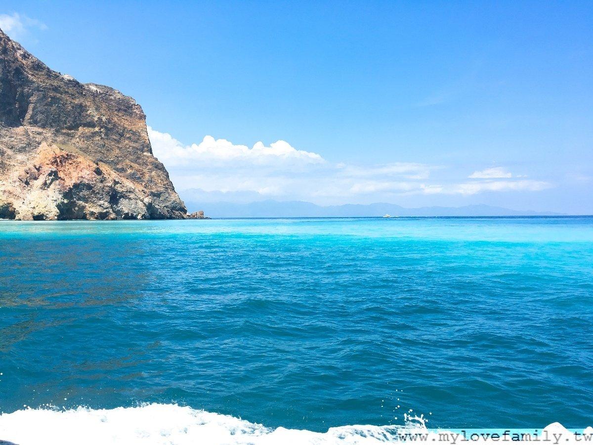 龜山島陰陽海