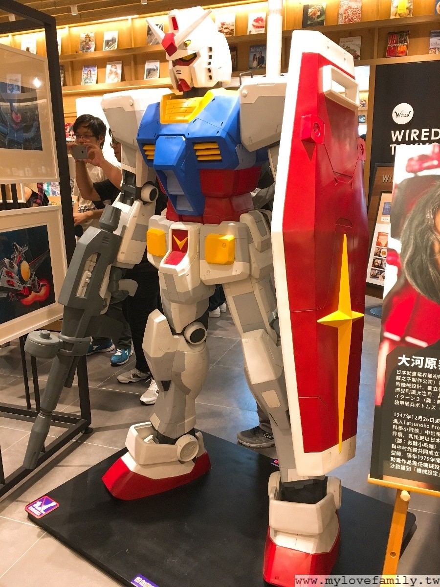 GUNDAM docks at TAIWAN 6M‪‎巨型鋼彈亞洲巡