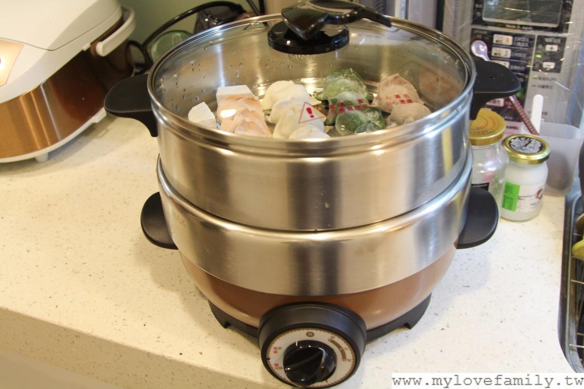 品諾蒸汽鮮食鍋