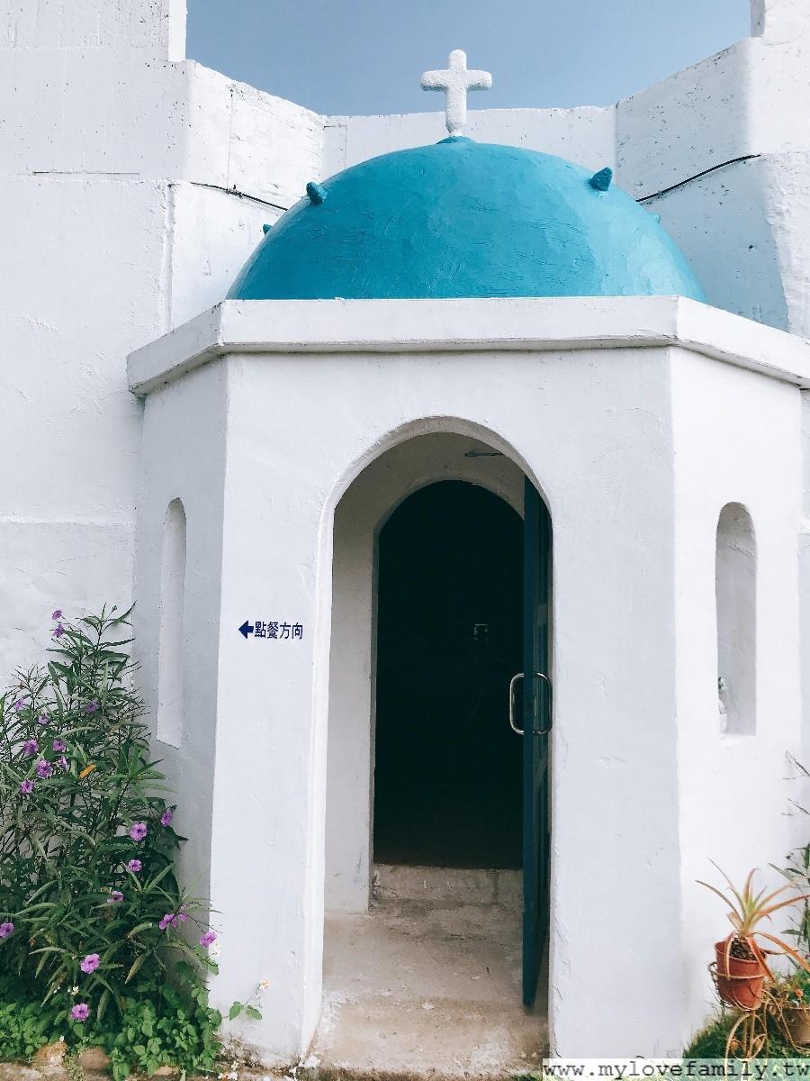 希臘建築餐廳