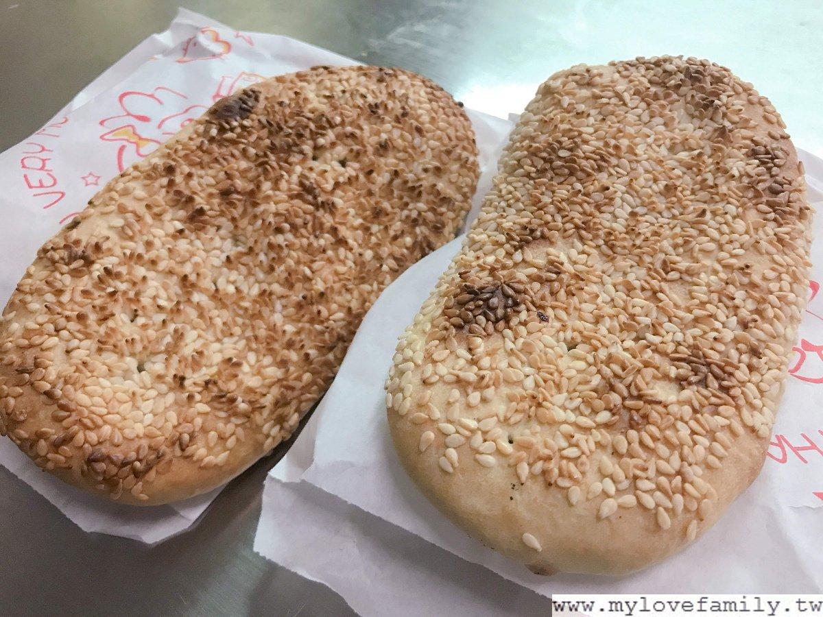 林記碳烤燒餅