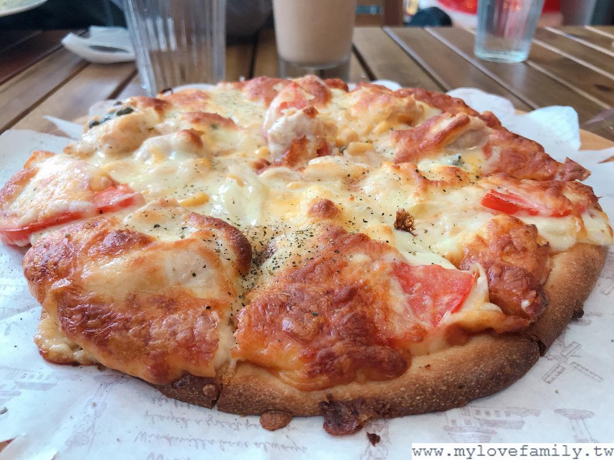 馬告雞肉披薩