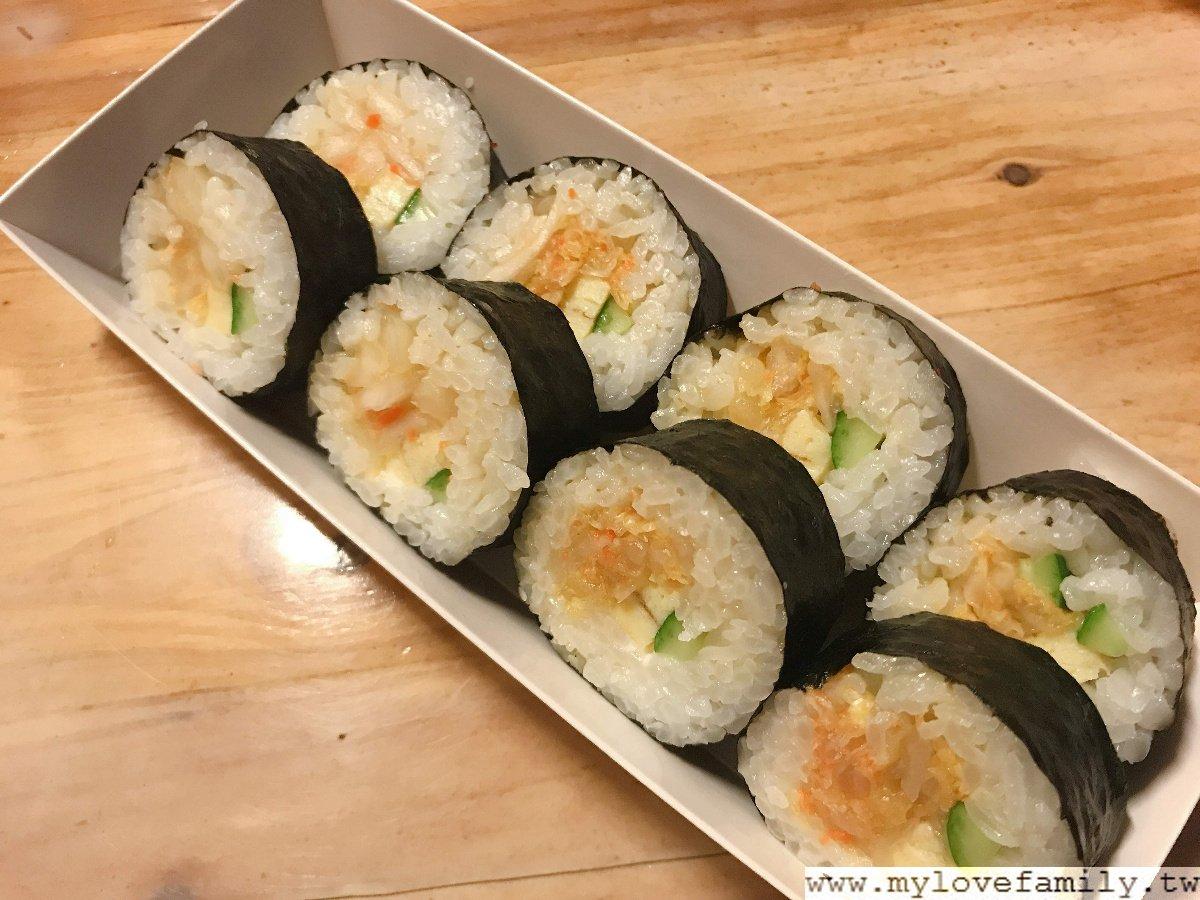 黃金泡菜壽司