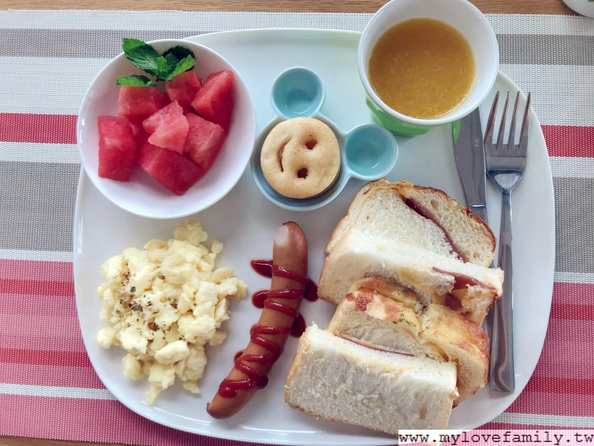 自然捲北歐風格旅店 早餐