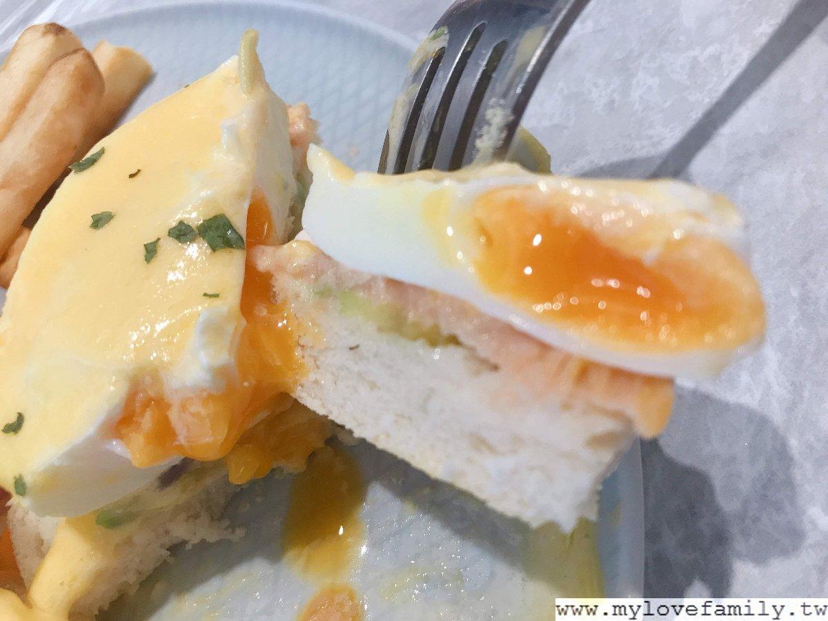 班尼迪克蛋燻鮭魚酪梨