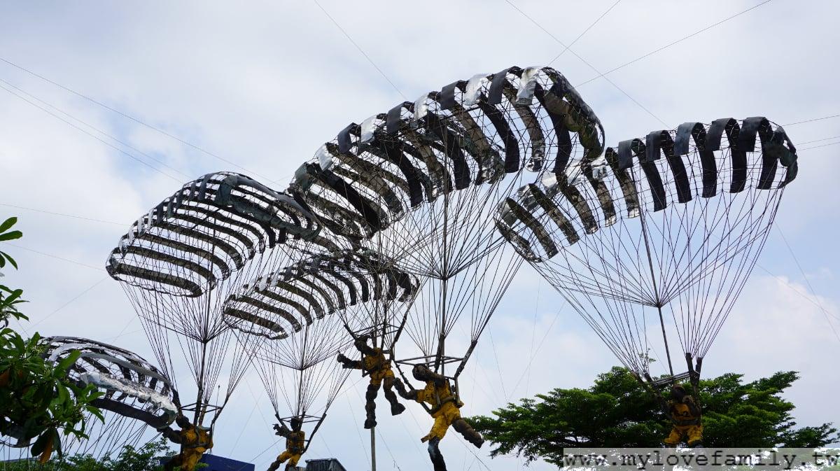 人間系列-降落傘的創作