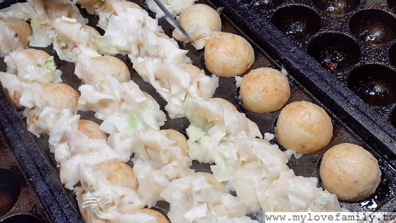 脆皮章魚燒